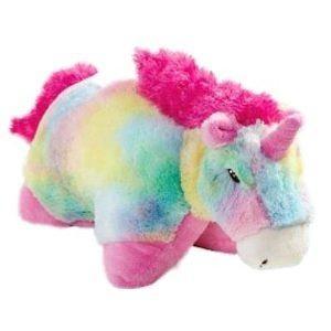 "My Pillow Pets - Rainbow Unicorn - 18"" Large Plush Toy"