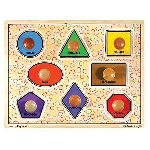 Melissa & Doug Large Shapes Jumbo Puzzle