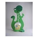 Big Belly Bank - Green Dinosaur - 20 Inch - Handcrafted in the USA