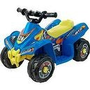Lil Rider Battery-Powered Blue Bandit GT Sport ATV, Blue