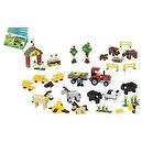 LEGO Education Animals Set For Farm, Sea, Desert & Dinosaur 779334 (1,081 Pieces)
