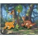Land Before Time 3D Lenticular 100 Piece Puzzle - Dinosaurs Around the Tree
