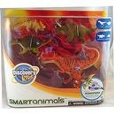 Discovery Kids Smart Animals Series 2 4-Pack Dinosaurs: T-Rex, Ankylosaurus, Torosaurus, and Protoceratops