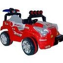 Lil Rider Battery-Powered Land King Jeep, Red