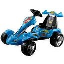 Lil Rider Battery-Powered Blue Ice Go-Kart, Blue
