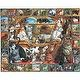 White Mountain Puzzles World of Cats