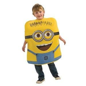 Despicable Me Childs Costume, Minion Jorge Costume-Small Despicable Me Childs Costume, Minion Jorge Costume