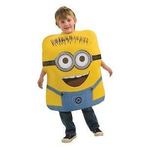 Dispicable Me Minion Jorge Child Costume Size: Small (4-6) Dispicable Me Minion Jorge Child Costume