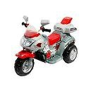 Lil Rider Ruby Racer 3-Wheeler Motorcycle, Silver/Red