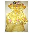 Deluxe Belle Yellow Dress From the Beauty and the Beast size4 x 6x