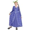 Shrek The Third Princess Fiona Dress Girls Costume  Shrek the Third Deluxe Princess Fiona Child Costume