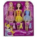 "Disney Princess Ballerina Belle, Sleeping Beauty, Cinderella ~11"" Dolls"