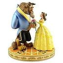 Disney Figure Statue - Beauty and the Beast - Belle & the Beast