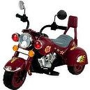 Lil Rider Maroon Marauder Motorcycle - Three Wheeler