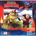 DreamWorks How To Train Your Dragon: Fishlegs and Gronkle 100 piece Jigsaw P