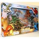 Legend of the Dragons Playset: 6 piece set of Mythical Creature Figures
