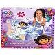 Dora the Explorer Snow Princess Shaped Floor Puzzle