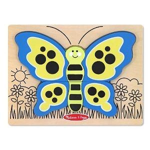 Melissa & Doug My First Chunky Puzzle - Butterfly