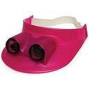 Binocular Visor Fuchshia Pink