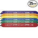 Qualatex 646Q Birthday Banner Airship Balloons, Radiant Jewel Assortment - Pack or 25