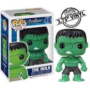 Funko Pop Marvel (Bobble): Avengers - Hulk