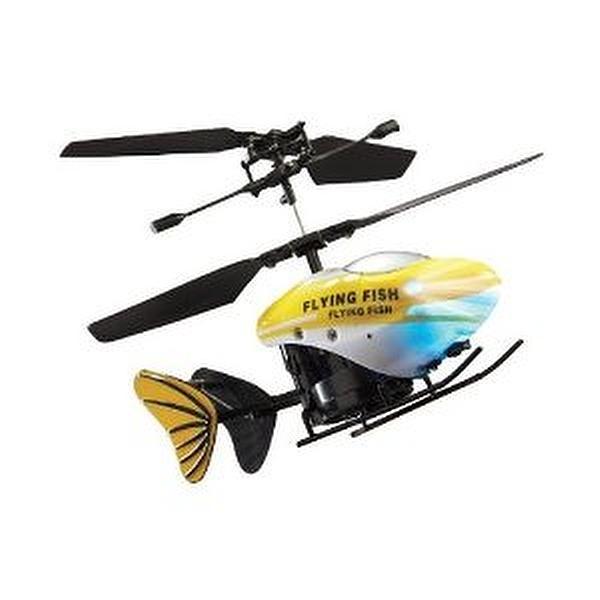 Flying fish remote control rc small mini micro helicopter for Remote control flying fish