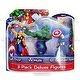 """Marvel Avengers 3 Pack Deluxe 4"""" Figures- Thor/ Hulk/ Captain America"""