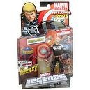 Marvel Legends 2012 Series 1 Action Figure Steve Rogers {Clear Shield Variant} [Terrax Build-a-figure Piece]