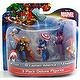 "Marvel Avengers 3 Pack 4"" Deluxe Action Figures Captain America Thor Hawkeye"