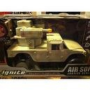 Ignite Radio Control Seek and Destroy Air Soft Justice Dealer 4 Wheel Drive Military Vehicle Truck