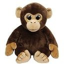 TY Classic Plush Mini - BROWNIE the Brown Monkey (7 inch)