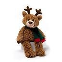 "Gund Christmas Brownie 15"" Reindeer Plush"