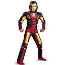 Avengers Iron Man Mark 7 Muscle Light Up Costume, Red/Gold, Medium  Avengers Iron Man Mark 7 Muscle Light Up Costume