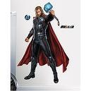 "The Avengers Thor Mega Decal Pack - Includes 1 Giant Thor Decal 36.75"" x 48.75"" and 17 Small Wall Decals"