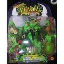 Marvel Comics Super Hero Spiderman Venom Planets of the Symbiotes Venom The Madness Surprise Attack Heads in Green Color