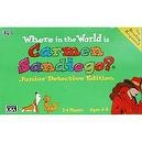 Where In The World Is Carmen Sandiego - Junior Edition - No Reading Required