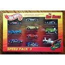 Hot Wheels 2012 The Hot Ones Speed Pack 3 All Chase Cars Steam Roller / Zombot / Side Kick / Aeroflash / Lotus Esprit / Ferrari