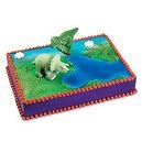 Dinosaur Cake Decorating Kit - Dinos open up to reveal skeletons inside!