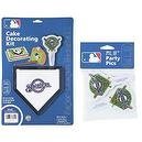 MLB Milwaukee Brewers Lay-on Cake/Cupcake Decorations