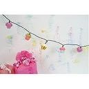 Cupcake Girls Birthday Party String Lights 8 ft. length Decoration