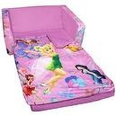 Marshmallow - Flip Open Sofa With Slumber Attachment - Disney Fairies Theme