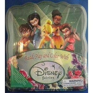 Read, Play and Color With Disney Fairies