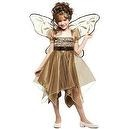 Paper Magic Group Metallic Copper Fairy-3 Girls Costume, Medium 7-8  Metallic Copper Fairy Child Costume