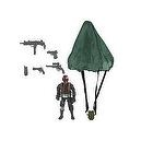 True Heroes 4 inch Action Figure - Soldier Paratrooper