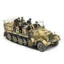 Unimax Forces of Valor 1:32 Scale German Sd. Kfz. 7 Half-Track D-Day Series