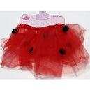 Girls (Ages 3 to 7) Lady Bug Dress Up Tutu Skirt