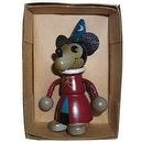 Mickey Mouse Fantasia Wizard Wooden Doll Japan Import Retro Toy Collection