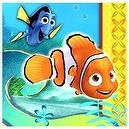 Finding Nemo Party Napkins - Finding Nemo Lunch Napkins - 16 Count