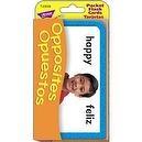 Opposites Opuestos Pocket Flash Cards