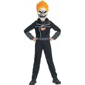 Ghost Rider Costume - Child Costume - Medium (7-8) Ghost Rider Costume - Child Costume